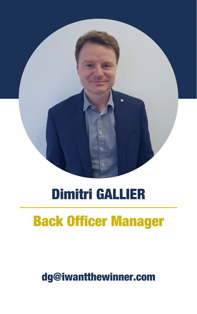 Dimitri Gallier (Back Office Manager)